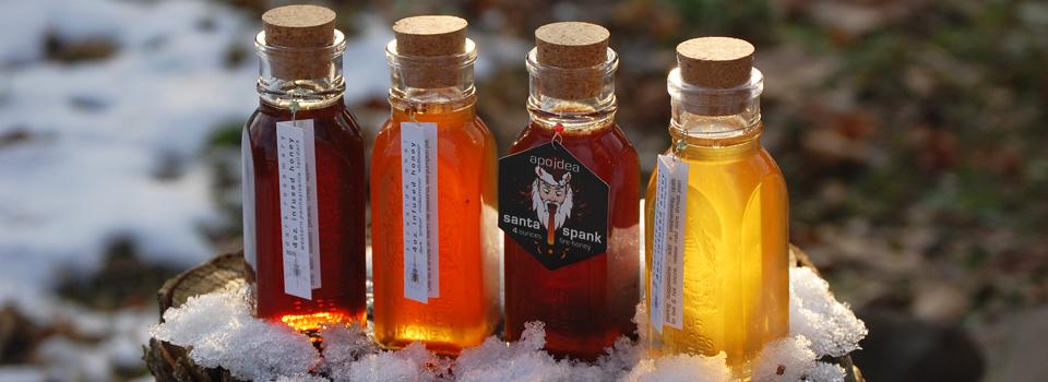 warming herbal honeys