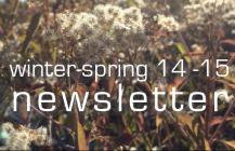 winter/spring 2014-15 update